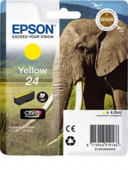 Original Patronen Epson Nr. 24 (Elefant) Yellow/Gelb