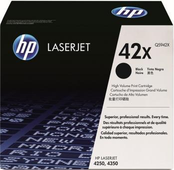 XL Original HP Toner 42X Q5942X Schwarz
