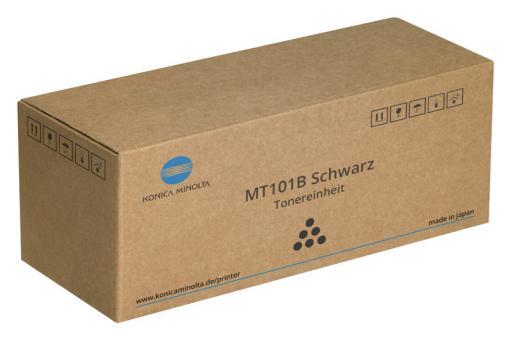 Original Konica Minolta Toner MT101B / 8932404 Schwarz