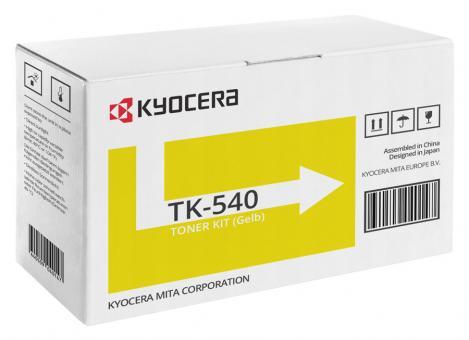 Original Kyocera Toner TK-540Y Gelb