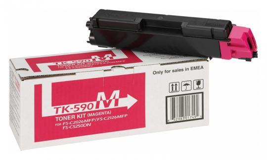 Original Kyocera Toner TK-590M Magenta
