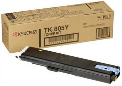 Original Kyocera Toner TK-805Y Gelb