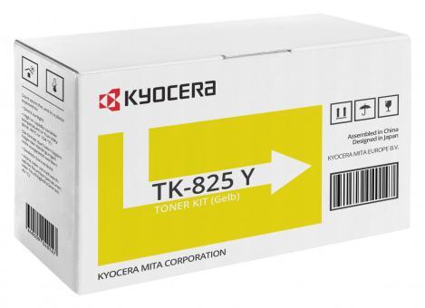Original Kyocera Toner TK-825Y Gelb