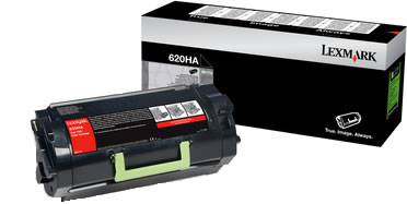 Original Lexmark Toner 620HA 62D0HA0 Schwarz
