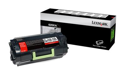 Original Lexmark Toner 620XA 62D0XA0 Schwarz