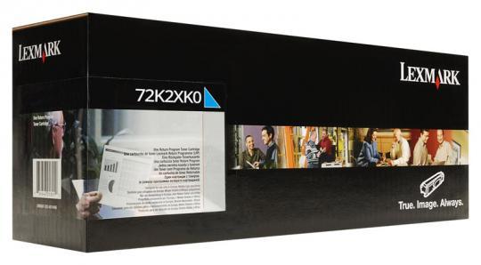 Original Lexmark Toner 72K2XK0 Schwarz