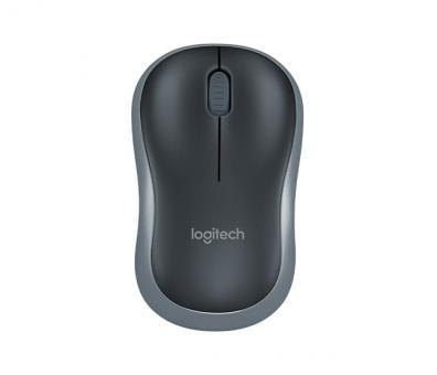Logitech M185 schnurlos Optische Maus Schwarz