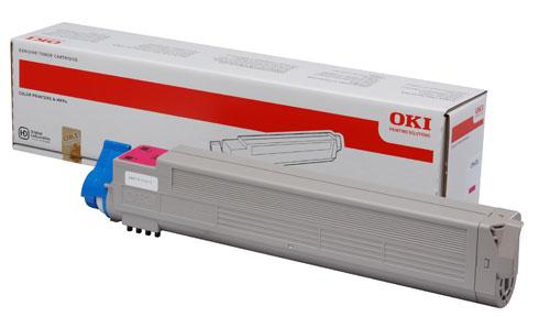 Original Oki Toner 43837130 Magenta