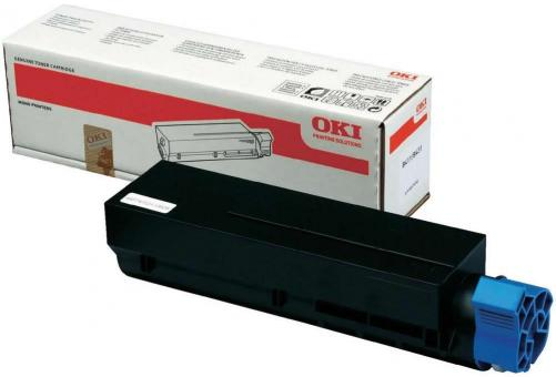 Original OKI Toner 44574702 Schwarz