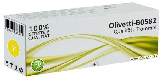 Original Olivetti Trommel Kit B0582 Yellow / Gelb