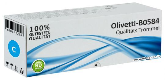 Original Olivetti Trommel Kit B0584 Cyan