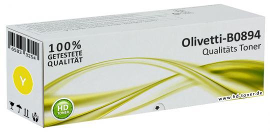 Original Olivetti Toner B0894 Yellow / Gelb