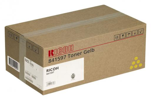 Original Ricoh Toner MP C305E Gelb