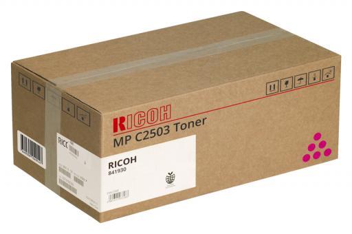 Original Ricoh Toner MP C2503 / 841930 Magenta