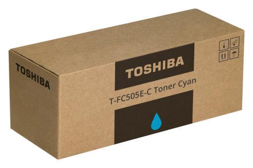 Original Toshiba Toner T-FC505E-C / 6AJ00000135 Cyan