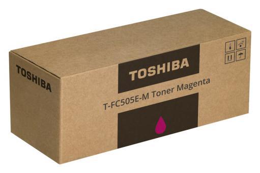 Original Toshiba Toner T-FC505E-M / 6AJ00000143 Magenta
