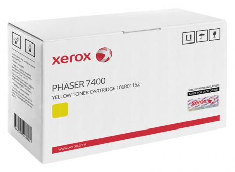 Original Xerox Toner 106R01152 Gelb