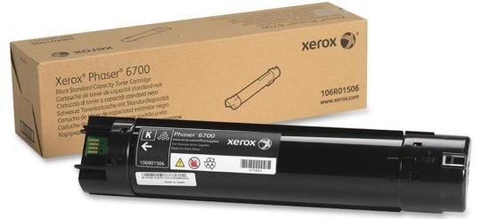 Original Xerox Toner 106R01506 Schwarz
