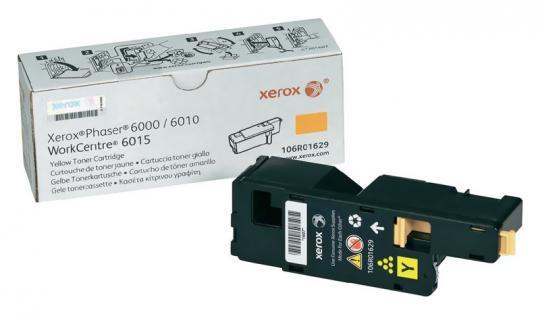 Original Xerox Toner 6000Y 106R01629 Gelb