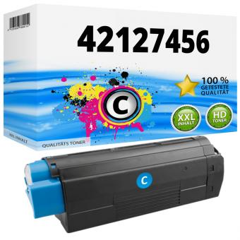 Alternativ OKI Toner C5250 C5450 C5510 C5540 Cyan