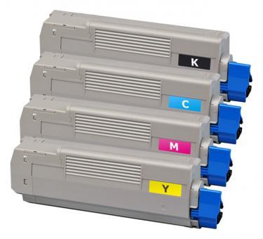 Alternativ OKI Toner C5600 C5700 Sparset