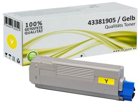 Alternativ OKI Toner C5600 C5700 Gelb