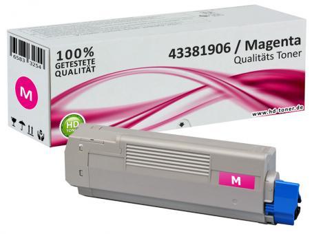 Alternativ OKI Toner C5600 C5700 Magenta
