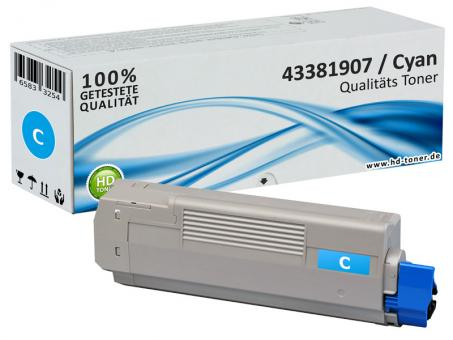 Alternativ OKI Toner C5600 C5700 Cyan