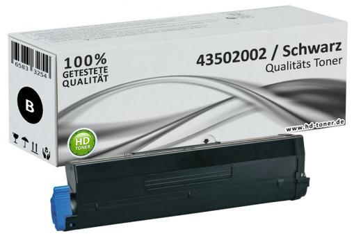 Alternativ Toner OKI 43502002 XL Schwarz