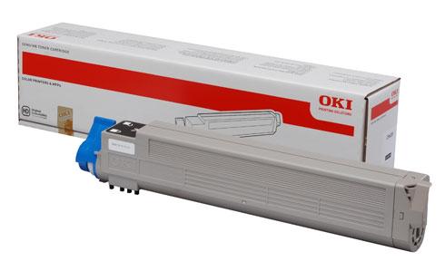 Original Oki Toner 43837132 Schwarz
