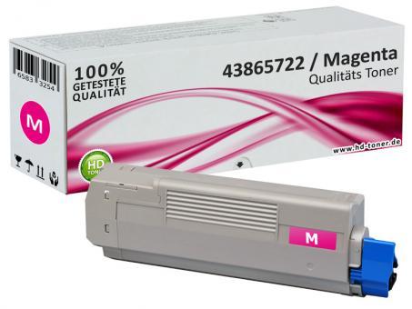 Alternativ OKI Toner C5850 C5950 MC560 Magenta