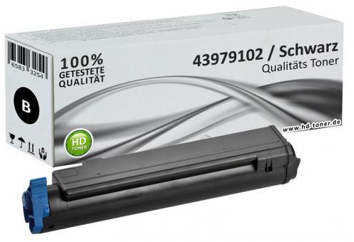 Alternativ OKI Toner B410 B430 B440 MB470 Schwarz