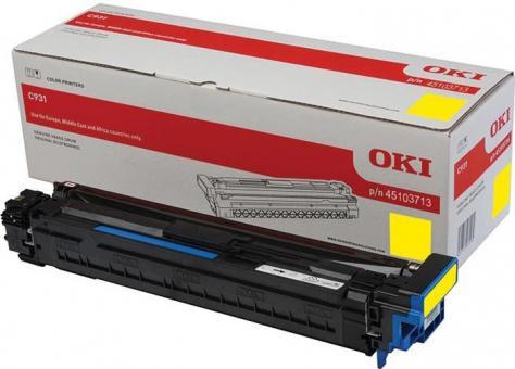 Original OKI Trommel 45103713 Gelb