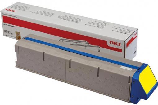 Original Oki Toner 45536413 Gelb