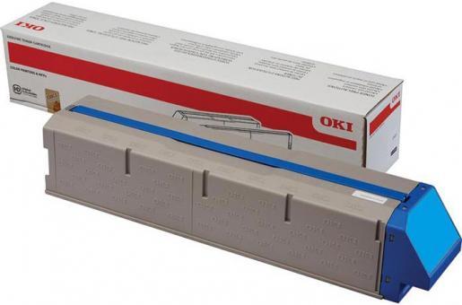 Original Oki Toner 45536507 Cyan