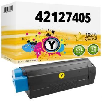 Alternativ OKI Toner C5100 C5200 C5300 C5400 Gelb