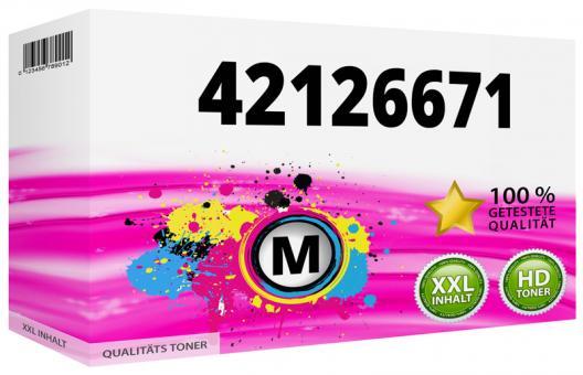 Alternativ OKI Trommel 42126671 Magenta