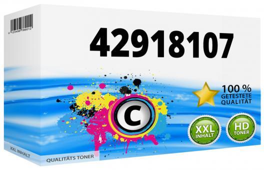 Alternativ OKI Trommel 42918107 Cyan