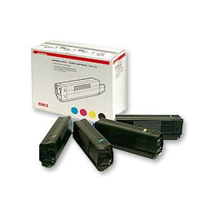 Original OKI Toner 42403006 Multipack