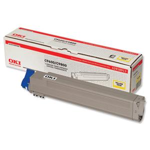 Original OKI Toner 42918913 Gelb