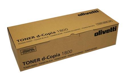Original Olivetti Toner B0839 Schwarz