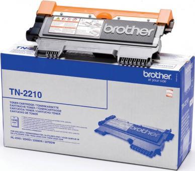 Original Brother Toner TN-2210 TN2210 Schwarz