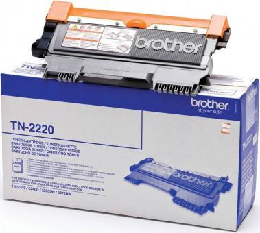 Original Brother Toner TN-2220 TN2220 Schwarz