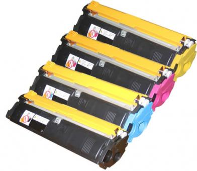 4x Alternativ Konica Minolta Toner QMS 2300 2350