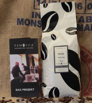 Samocca Kalossi Kaffee - ganze Bohnen 1 kg