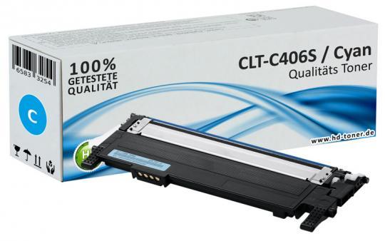 Alternativ Samsung  CLT-C406S Toner Cyan