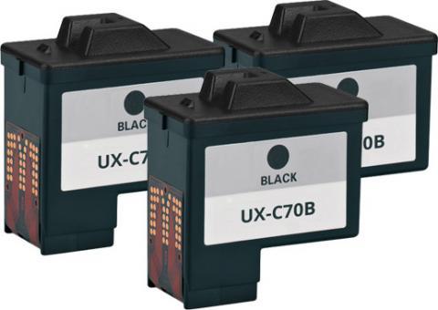 3x Alternativ Sharp Patronen UX  C70 B