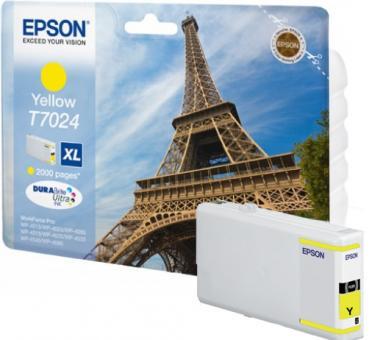 Original Epson Druckerpatronen T7024 XL Yellow