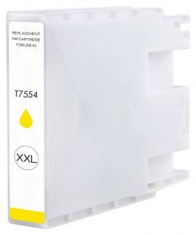 Alternativ Epson Druckerpatrone T7554 Gelb