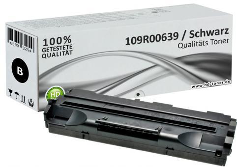 Alternativ Xerox Toner 109R00639 Schwarz